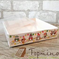 Коробка для пряника 16*16*3,5 см