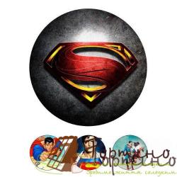 Вафельная пластина Супергерои 3