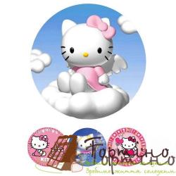 Вафельная пластина Hello Kitty 1