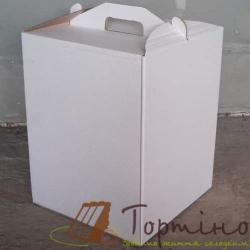 Коробка для торта 30*30*40 (висока)