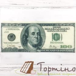 Вафельная пластина 100 Долларов