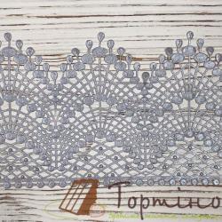 Кружево с айсингом № 1 (Серебряный) Сладо