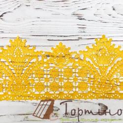 Кружево с айсингом № 10 (Золотое) Слада
