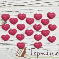 Шоколадні вироби Сердечка малі, 20 шт.
