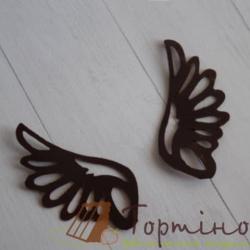 Трафарет для шоколада гибкий Крылья 2 арт. 20011