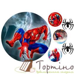 Вафельная пластина Spider-man