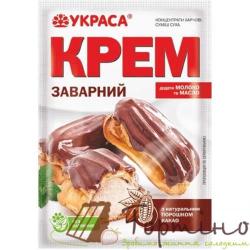 Крем заварной шоколадный
