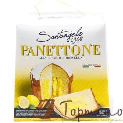 Паска Santagelo PANETTONE alla crema di lemone, 908г