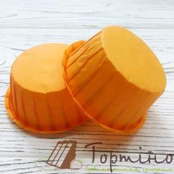 Капсулы для маффинов Оранжевые d55, h30, 20 шт.