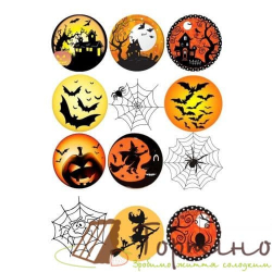 Вафельная пластина Halloween 5
