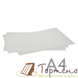 Вафельный бумага для печати А4, 0,5 мм, 100 шт