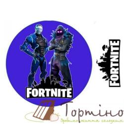 Вафельная пластина Fortnite 4