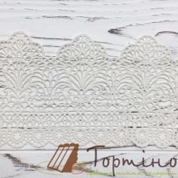 Кружево с айсингом Премиум № 2 (Белое)