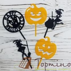 """Пластиковые Топер """"Halloween"""""""