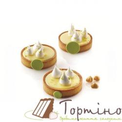 Формы для выпечки тарту Tarte Ring Round d80 Silikomart