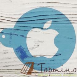 Трафарет Apple