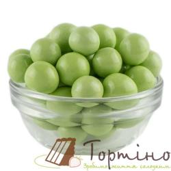 Воздушные шарики в шоколаде Зеленые, 50г