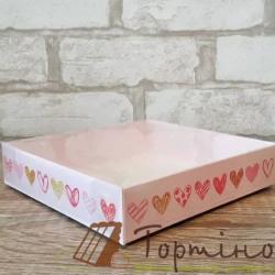 Коробка для пряника 16 * 16 * 3,5 см