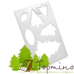 Трафарет для шоколада Елка 1 арт.10026