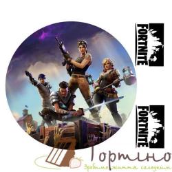 Вафельная пластина Fortnite 2