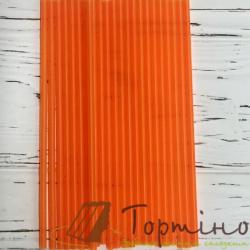 Палочки для кейк попсы Оранжевые, 50 шт.