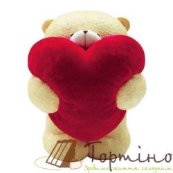 Молд 3D Мишка с сердцем