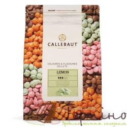 Натуральный белый шоколад со вкусом лайма, ТМ Callebaut, 50