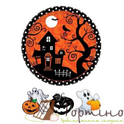 Вафельная пластина Halloween 4