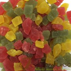 Желейно-фруктовые кусочки (фруктовый микс), 100 г