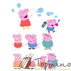 Вафельная пластина Свинка Пеппа 4