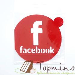 Трафарет Facebook