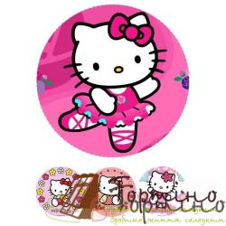 Вафельная пластина Hello Kitty 2