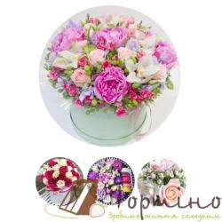 Вафельная пластина Цветы 1