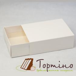 Коробка для макарунс Белая, 16*12*5 см