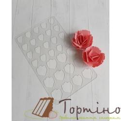 Трафарет для шоколада Роза 1 арт.10017