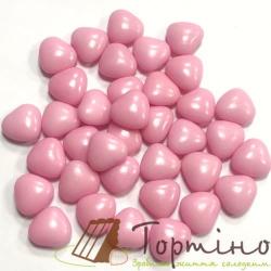 """Драже """"Сердечки розовые"""" с молочным шоколадом, 100 г"""