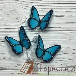 Бабочки премиум (голубые)