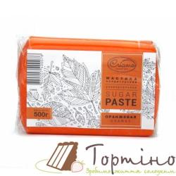 Сахарная паста универсальная Оранжевая Criamo, 500 г