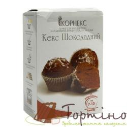 Смесь для выпечки Кекс Шоколадный Корнекс, 400 г