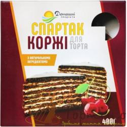 Коржи для торта Спартак, 400 г