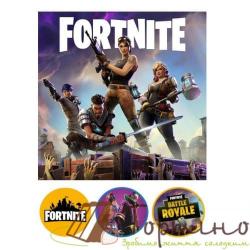 Вафельная пластина Fortnite 1