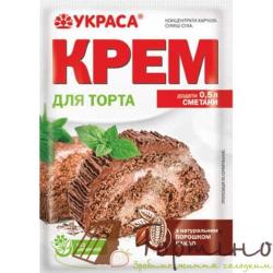 Крем сметанный для торта шоколадный