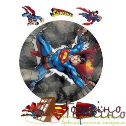 Вафельная пластина Супергерои 10