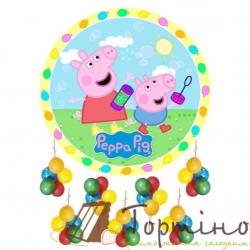 Вафельная пластина Свинка Пеппа 1