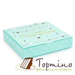 Коробка для конфет When you smile Тиффани