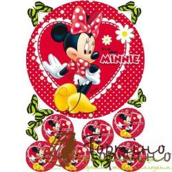 Вафельная пластина Микки Маус 9