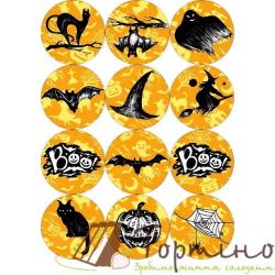 Вафельная пластина Halloween 1