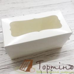 Картонная упаковка на 2 кексы