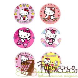 Вафельная пластина Hello Kitty 4