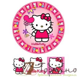Вафельная пластина Hello Kitty 3
